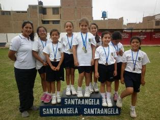 Campeonas Atletismo